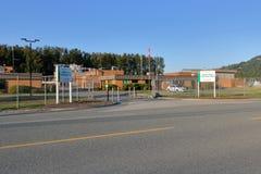 Εργοστάσιο επεξεργασίας νερού Chilliwack στοκ φωτογραφία με δικαίωμα ελεύθερης χρήσης