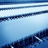 Εργοστάσιο επεξεργασίας λυμάτων στοκ εικόνες με δικαίωμα ελεύθερης χρήσης