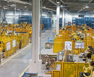 εργοστάσιο εσωτερικό Στοκ Εικόνες