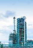 Εργοστάσιο διυλιστηρίων πετρελαίου Στοκ φωτογραφία με δικαίωμα ελεύθερης χρήσης