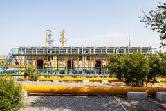 Εργοστάσιο και φύση Στοκ Εικόνα