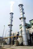 εργοστάσιο καπνοδόχων στοκ εικόνες με δικαίωμα ελεύθερης χρήσης