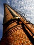 εργοστάσιο καπνοδόχων Στοκ φωτογραφίες με δικαίωμα ελεύθερης χρήσης