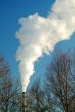 εργοστάσιο καπνοδόχων Στοκ Φωτογραφία