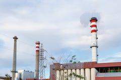 1 εργοστάσιο καπνοδόχων Στοκ Φωτογραφία