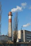 1 εργοστάσιο καπνοδόχων Στοκ Φωτογραφίες