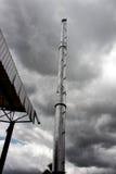 Εργοστάσιο καπνοδόχων Στοκ Φωτογραφίες