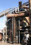 εργοστάσιο κατασκευής παλαιό Στοκ φωτογραφία με δικαίωμα ελεύθερης χρήσης