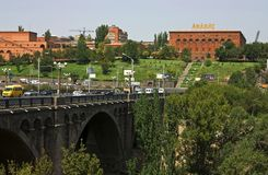 Εργοστάσιο κονιάκ σε Jerevan Στοκ Εικόνες