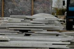 Εργοστάσιο μαρμάρων, ευρεία γωνία Στοκ φωτογραφίες με δικαίωμα ελεύθερης χρήσης