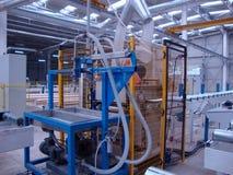 Εργοστάσιο μηχανών κόλλας στοκ εικόνες