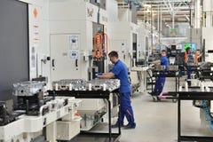 Εργοστάσιο μηχανών Στοκ φωτογραφία με δικαίωμα ελεύθερης χρήσης
