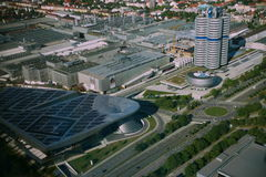 εργοστάσιο Μόναχο της Bmw Στοκ φωτογραφία με δικαίωμα ελεύθερης χρήσης