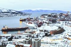 Εργοστάσιο ορυχείου μεταλλεύματος σιδήρου Στοκ Φωτογραφίες