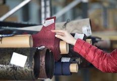 Εργοστάσιο παπουτσιών, αποθήκη εμπορευμάτων των ρόλων στοκ φωτογραφία με δικαίωμα ελεύθερης χρήσης