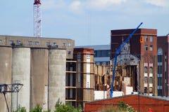 εργοστάσιο παλαιό Στοκ εικόνες με δικαίωμα ελεύθερης χρήσης