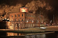 εργοστάσιο παλαιό Στοκ Εικόνα