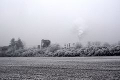 εργοστάσιο παλαιό Στοκ φωτογραφία με δικαίωμα ελεύθερης χρήσης