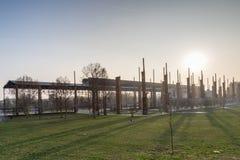 εργοστάσιο παλαιό Στοκ εικόνα με δικαίωμα ελεύθερης χρήσης