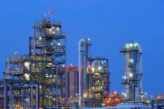 εργοστάσιο πετροχημικών Στοκ εικόνες με δικαίωμα ελεύθερης χρήσης