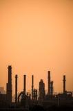 Εργοστάσιο πετροχημικών Στοκ φωτογραφία με δικαίωμα ελεύθερης χρήσης