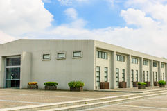 Εργοστάσιο στον ουρανό στοκ φωτογραφία με δικαίωμα ελεύθερης χρήσης