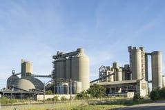 Εργοστάσιο τσιμέντου Στοκ Εικόνες