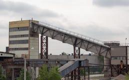 Εργοστάσιο τσιμέντου στοκ φωτογραφίες