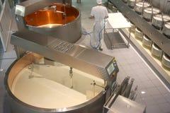 εργοστάσιο τυριών Στοκ Εικόνα