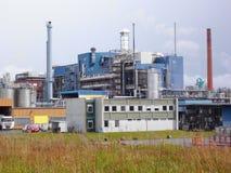 Εργοστάσιο των επιστρωμάτων GmbH, MÃ ¼ της BASF nster, NRW, Γερμανία Στοκ Φωτογραφία