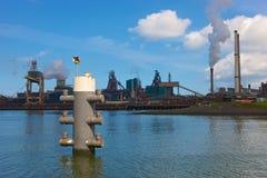 Εργοστάσιο χάλυβα Hoogovens Στοκ Φωτογραφία