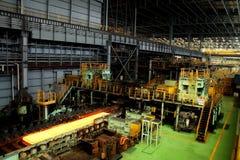 Εργοστάσιο χάλυβα μετάλλων Στοκ φωτογραφία με δικαίωμα ελεύθερης χρήσης