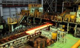 Εργοστάσιο χάλυβα μετάλλων Στοκ εικόνες με δικαίωμα ελεύθερης χρήσης