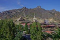 Εργοστάσιο χαλκού Alaverdi σε Alaverdi, Lori, Αρμενία στοκ εικόνες