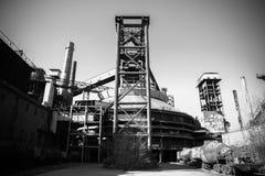Εργοστάσιο χαλυβουργείων της Κίνας Πεκίνο Shougang Στοκ φωτογραφίες με δικαίωμα ελεύθερης χρήσης