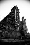 Εργοστάσιο χαλυβουργείων της Κίνας Πεκίνο Shougang Στοκ Εικόνα