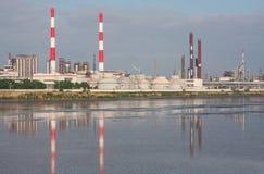 εργοστάσιο χημικής βιομηχανίας στοκ φωτογραφίες