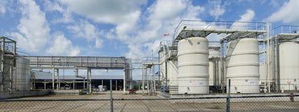 Εργοστάσιο χημικής βιομηχανίας στοκ φωτογραφίες με δικαίωμα ελεύθερης χρήσης