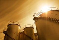 εργοστάσιο χημικής βιομηχανίας Στοκ Εικόνα