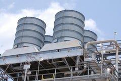 εργοστάσιο χημικής βιομ&e Στοκ εικόνες με δικαίωμα ελεύθερης χρήσης