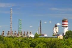 εργοστάσιο χημικής βιομ&e Στοκ εικόνα με δικαίωμα ελεύθερης χρήσης