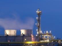 εργοστάσιο χημικής βιομ&e Στοκ Φωτογραφίες