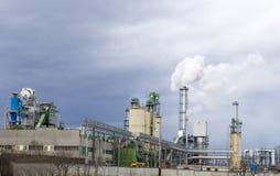 εργοστάσιο χημικής βιομ&e Στοκ φωτογραφία με δικαίωμα ελεύθερης χρήσης