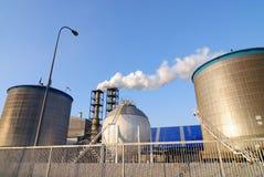 εργοστάσιο χημικής βιομ&e Στοκ φωτογραφίες με δικαίωμα ελεύθερης χρήσης