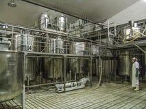 Εργοστάσιο χυμού στοκ φωτογραφίες με δικαίωμα ελεύθερης χρήσης