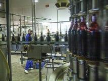 Εργοστάσιο χυμού στοκ εικόνα με δικαίωμα ελεύθερης χρήσης