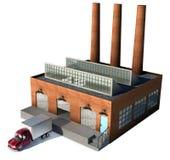 εργοστάσιο ελεύθερη απεικόνιση δικαιώματος