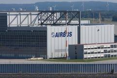 εργοστάσιο airbus Στοκ φωτογραφία με δικαίωμα ελεύθερης χρήσης