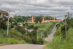 Εργοστάσιο Bento Goncalves τούβλου στοκ φωτογραφίες