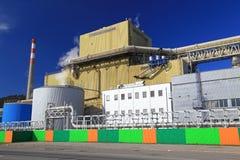 Εργοστάσιο Mondi στην πόλη Ruzomberok, Σλοβακία Στοκ εικόνες με δικαίωμα ελεύθερης χρήσης